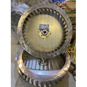 cánh ly tâm inox 304 đường kính 350mm, hàng đặt