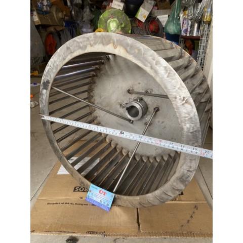 cánh quạt ly tâm inox 304  đường kính 500mm, hàng đặt