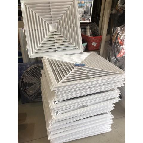 mặt nạ âm trần nhựa thông gió 60x60cm
