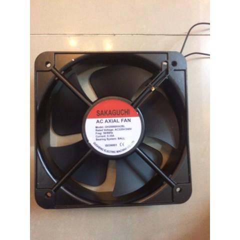 quạt hút tủ điện 20cm, sakaguchi, 220v