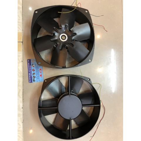 quạt hút tản nhiệt tròn  20cm , 65w-380v, cánh sắt
